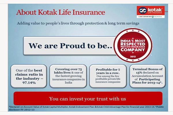 Advisor Kotak Life Insurance